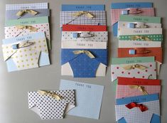 Yes- these are baby diapers.but just a few alterations could make these fabulous personal shower panty cards! Baby Shower Thank You Cards, Baby Cards, Baby Shower Diapers, Baby Boy Shower, Babyshower, Everything Baby, Scrapbook Cards, Scrapbooking, Homemade Cards