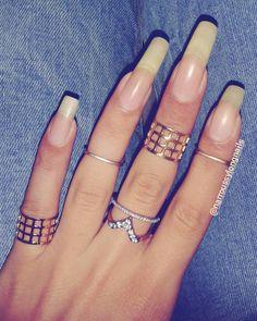 Long Natural Nails, Long Nails, Natural Hair, Summer Acrylic Nails, Acrylic Nail Art, Nails Only, Healthy Nails, Gorgeous Nails, Nails On Fleek