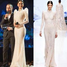 8 Times Pia Wurtzbach Turned Up the Glam Before Modern Filipiniana Gown, Filipiniana Wedding, Couture Dresses, Bridal Dresses, Fashion Dresses, Prom Dresses, Pia Wurtzbach Gown, Filipino Fashion, Designer Dresses