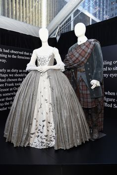 Claire and Jamie's Wedding Outfits