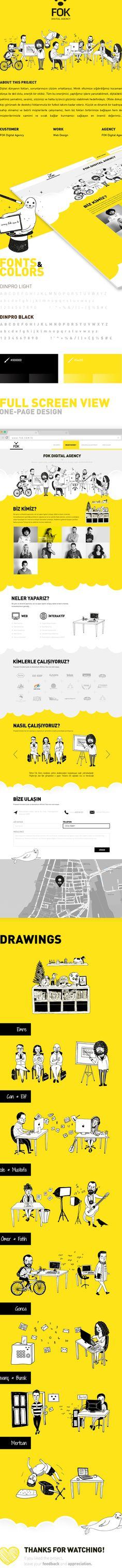 FOK Digital Agency | Web & Illustration