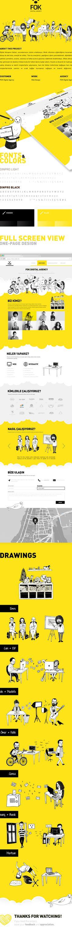 FOK Digital Agency | Web & Illustration