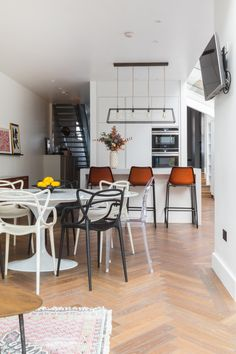 Kitchen Contemporary Kitchen Mid Century Mid Century Kitchen Glamorous Contemporary Kitchen Chairs Review