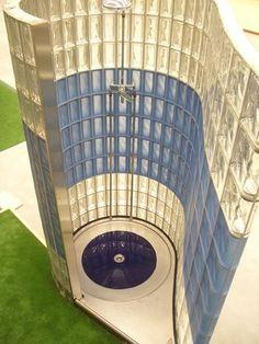 Bild: Glasbausteine-center Glasbausteine-center.de Bad Dusche ... | {Glasbausteine badgestaltung 70}