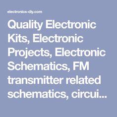 Cara mempercepat putaran kipas angin agar kipas angin berputar quality electronic kits electronic projects electronic schematics fm transmitter related schematics circuits asfbconference2016 Images