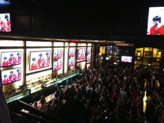 The HUGE TV's at the front bar says it all! Great place to watch a game or go out on a Saturday night. Sign up for their rewards program and get $5 back! https://www.springrewards.com/places/28974