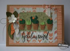 Vorige week was mijn zus jarig, dus weer eens een reden om een leuke verjaardagskaart te maken. Collectable: COLL1323 bloemetje...