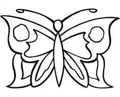 mariposas en blando para colorear
