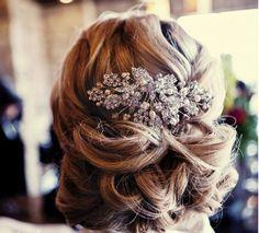 Trend Alert: Creative and Elegant Wedding Hairstyles for Long Hair. #longhairupdo #hair #hairup