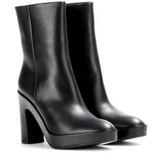 Pads Leather Ankle Boots * Balenciaga ¦ mytheresa