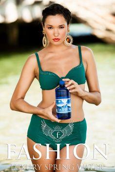 Campania Fashion Luxury Spring Water realizata de Fashiontv Romania - galerie foto Spring Water, Bikinis, Swimwear, Retro, Luxury, Fashion, Bathing Suits, Moda, Mineral Water