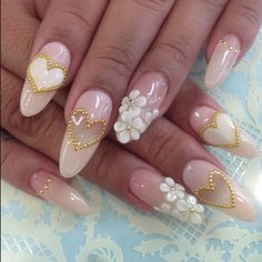 French manicures and single tone nail colors are slowly fading away and a new nail art trend is on the rise. 3D nail art is literally popping up everywhere these days. You know, because it's 3D. Ch...