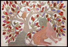 http://mahashivarathri.org/hands-of-grace/craft-workshops/ Gond Painting