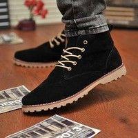 a21252672a1 2014 New Men Trendy Corium Leisure Top Grade Fashion Driving Shoes Bean  Shoes K SHB036