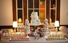 Melissa Andre is a luxury wedding & event planner in Los Angeles. Mint Desserts, Wedding Desserts, Dessert Buffet, Candy Buffet, Dessert Tables, Sweet Buffet, Sweet Tables, Luxury Wedding, Our Wedding