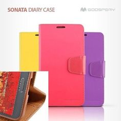 Goospery iPhone 5/5S Case  Sonata  Wallet Diary Credit Card Slot with Stand