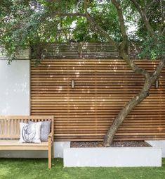 59 Ideas For Patio Garden Inspiration Fence Backyard Fences, Backyard Landscaping, Pergola Patio, Fence Garden, Pergola Kits, Diy Fence, Backyard Privacy, Cheap Pergola, Balcony Privacy