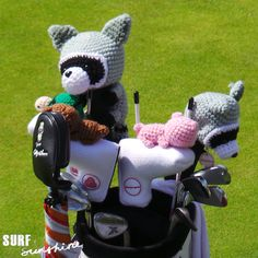 How to Crochet a Golf Club Cover | Crafts - Creativebug