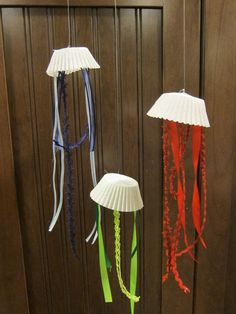 More for your $. These Jellies are easy to make with little strips of ribbon, tape and cupcake liners. The ribbon is just taped inside. Paper bowls cost more because more ribbon is needed. Enjoy!