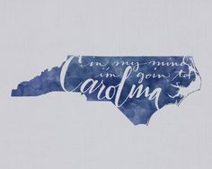 In My Mind I'm Goin' to Carolina...