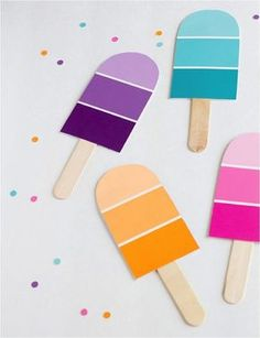 Cute craft with lolly sticks