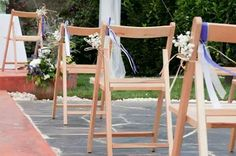 Sillas boda rustica Ladder Decor, Home Decor, Chairs, Hairdos, Wedding, Flowers, Interior Design, Home Interior Design, Home Decoration