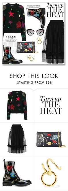 """Trending - Chunky boots"" by lidia-solymosi ❤ liked on Polyvore featuring Dolce&Gabbana, STELLA McCARTNEY, Simone Rocha, Maria Black and Miu Miu"