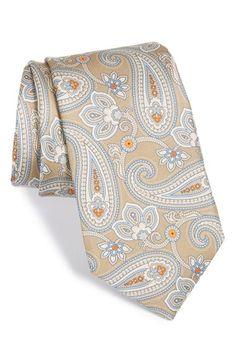 Men's Nordstrom Paisley Silk Tie