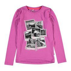 Name It T-shirt lange mouw | Winter collectie | kleertjes.com #Newyork #fashion #kids #kinderkleding #kidsfashion #meisjeskleding #girls #trends