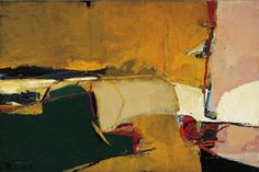 Richard Diebenkorn - Untitled No. 22 (1948) via the Norton Simon Museum