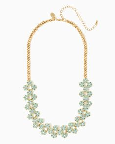 charming charlie | Flower Dance Necklace | UPC: 410007408240 #charmingcharlie