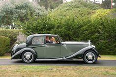 1936 Bentley 4¼ Litre Vanvooren Pillarless Saloon B-125-GP
