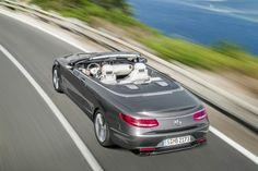 Mercedes-Benz S-Class cabriolet.