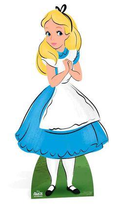 Alice im Wunderland - Alice - Disney Pappaufsteller Standy - 81 x 159 cm | eBay