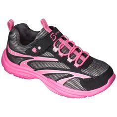 Girl's S Sport Designed by Skechers One Strap Sneaker - Black