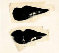 Andy Warhol  Lips, 1975