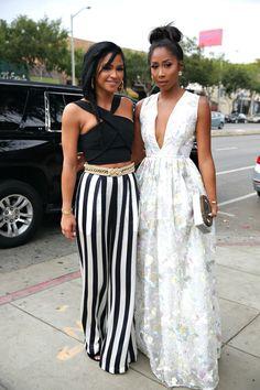 Cassie and Apryl Jones at the Ciroc Summer brunch.