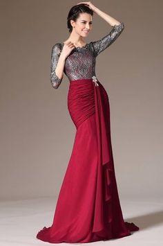 Vestidos Largos de Fiesta para Bodas. Estilo, elegancia, distinción y cierto aire de sensualidad son las especiales características de estos modelos de vestidos largos de fiesta para boda que a