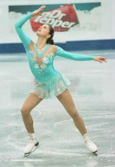 Julia Sebestyen - short program - 1999 World Championships Figure Skating Competition Dresses, Figure Skating Costumes, Ice Show, Ice Skaters, Skates, Winter Sports, World Championship, Champs, Olympics