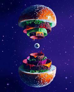 The big bang burger from Fat anf Furious Burger