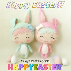 Gingermelon Dolls: Happy Easter!