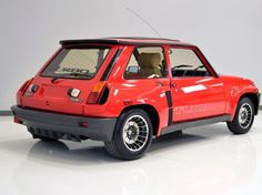99% Original Grey Market 1984 Renault 5 Turbo 2 for sale Rear Three Quarter