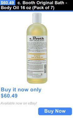 Bath Oils C Booth Original