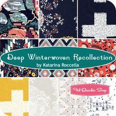 Deep Winterwoven Recollection Fat Quarter BundleKatarina Roccella for Art Gallery Fabrics - Fat Quarter Bundles | Fat Quarter Shop
