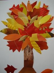 Autumn Tree Collage kidscrafts.com           what you'll need: paper, magazines, tape or glue & scissors.