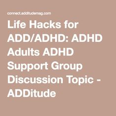 Scottish ADD/ADHD Support Groups