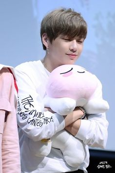 my fluffy bear Daniel 3, Produce 101 Season 2, Kim Jaehwan, Ha Sungwoon, Kpop, Seong, 3 In One, Your Music, Jinyoung