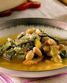 Escarole and White Bean Soup - Martha Stewarts version