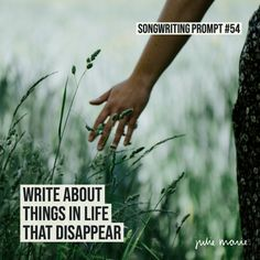 50+ Songwriting Prompts — Julie Marie