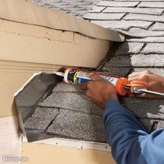 Roofing Tips From The Professionals 12 Roof Repair Tips: Find and Fix a Leaking Roof Diy Home Repair, Roof Repair, Siding Repair, Home Repairs, Diy Home Improvement, Home Renovation, At Least, Remodeling Ideas, House Remodeling